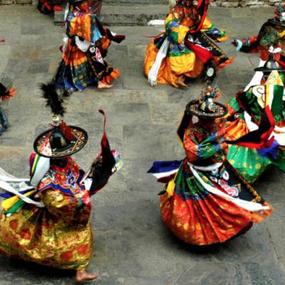 Cham (tibetischer) Tanz